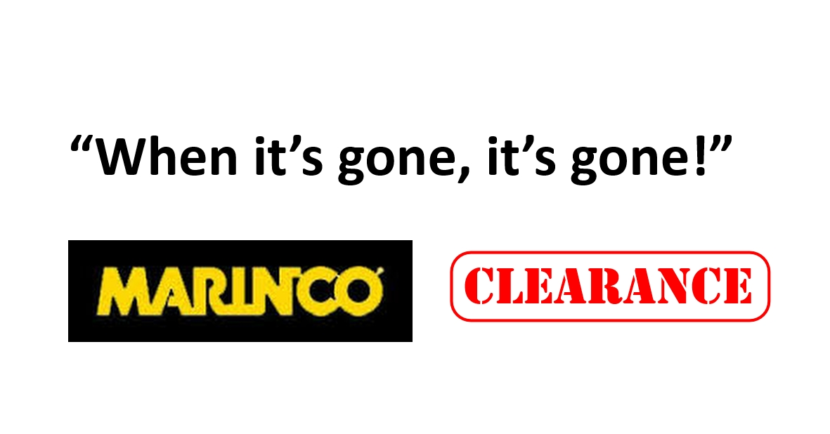 Marinco CLEARANCE While Stocks Last