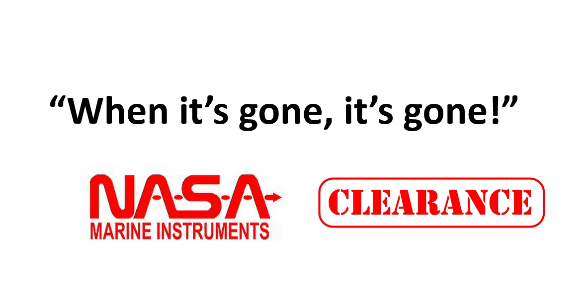 Nasa CLEARANCE While Stocks Last
