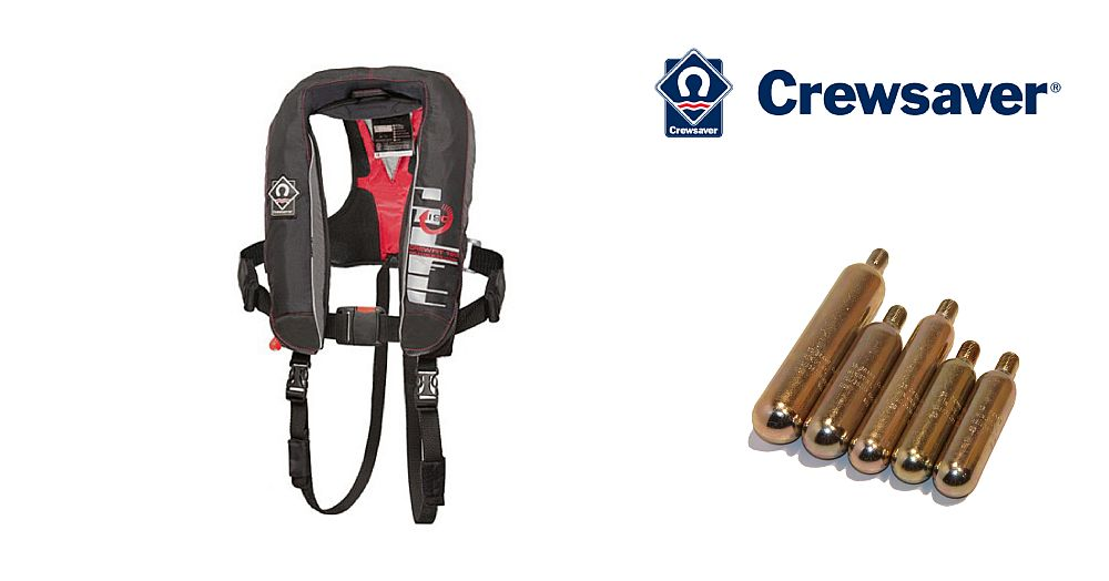 Crewsaver Crewfit 190N Auto Replacement Gas Cylinders