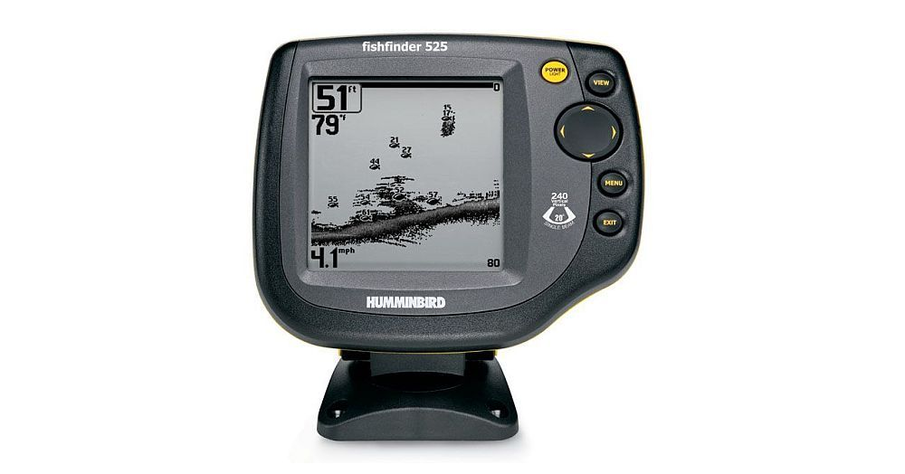 humminbird 525 transducers & cables, Fish Finder