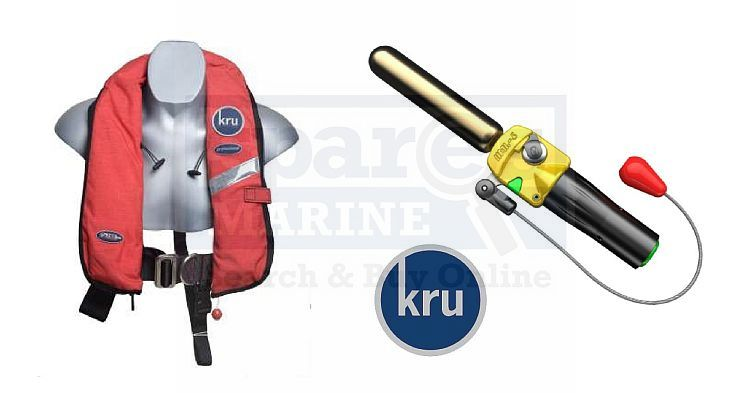 Kru Professional Spares to Match UML Auto Firing Head Yellow
