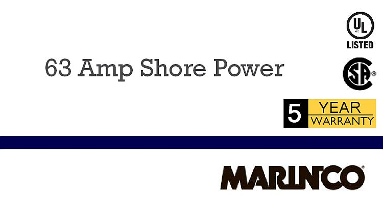 Marinco 63A Shore Power Products