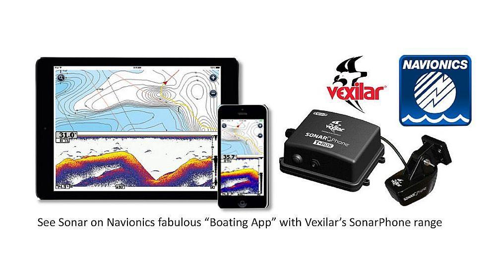 Navionics Boating App Fixed Mount WiFi Sounder Module