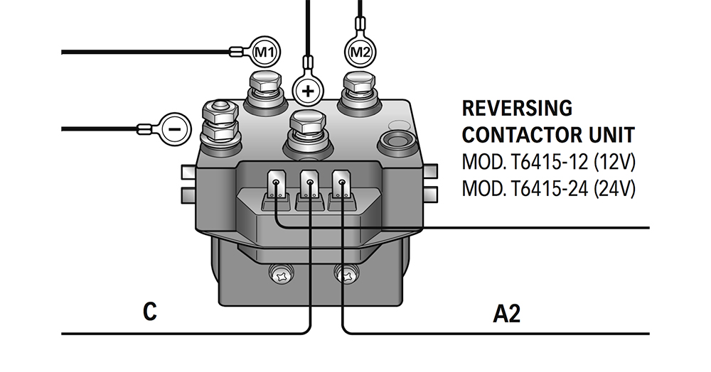 Reversing Contacts - Solenoid Units
